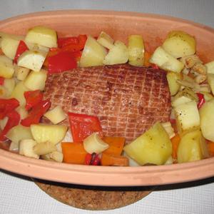Hamburgerryg i Stegeso (opskrift) | Kogt med æblejuice